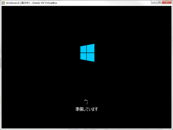 SnapCrab_Windows10 [実行中] - Oracle VM VirtualBox_2015-8-4_18-8-49_No-00